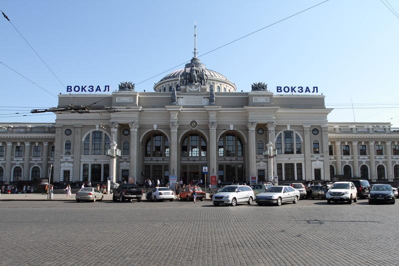 Одесса - исторические фотографии: троллейбус - transphoto